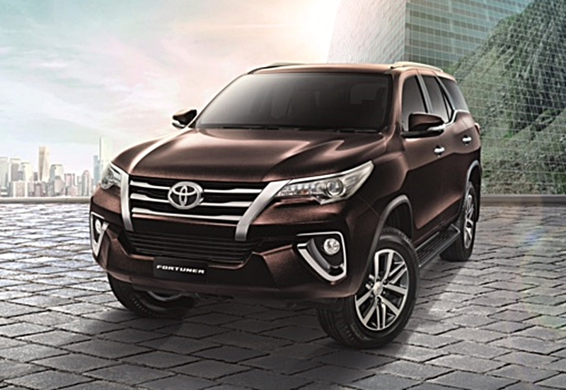 All new Toyota Fortuner 2015 2016