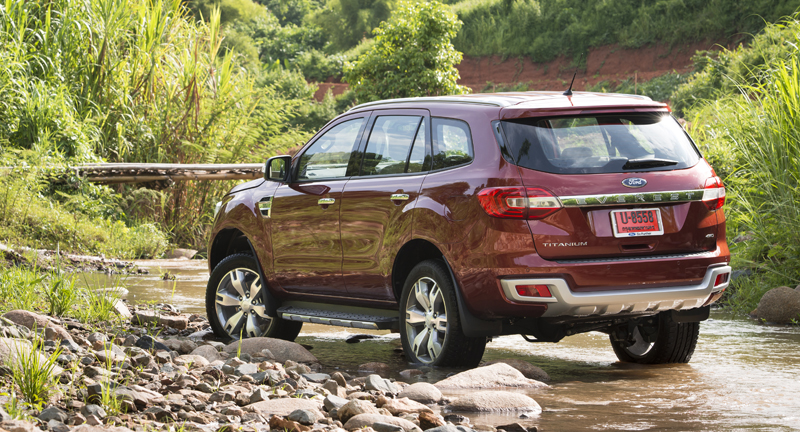 Ford Everest on location 003