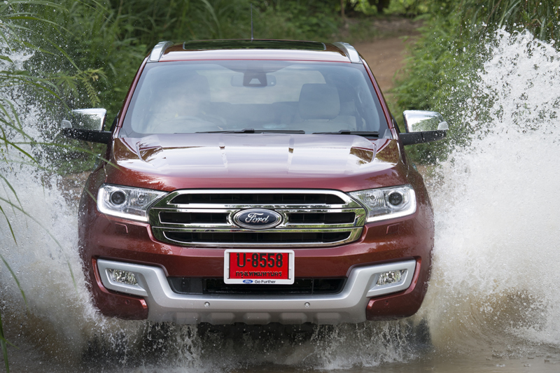 Ford Everest on location 017