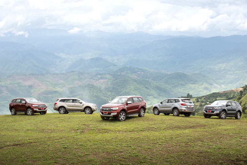Ford Everest on location 025
