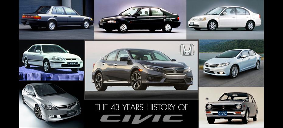 ย้อนตำนานฉบับย่อ 43 ปีแห่งจุดเริ่มต้น ก่อนจะพบกับการเปิดตัวของ Honda Civic 2016 เร็วๆนี้