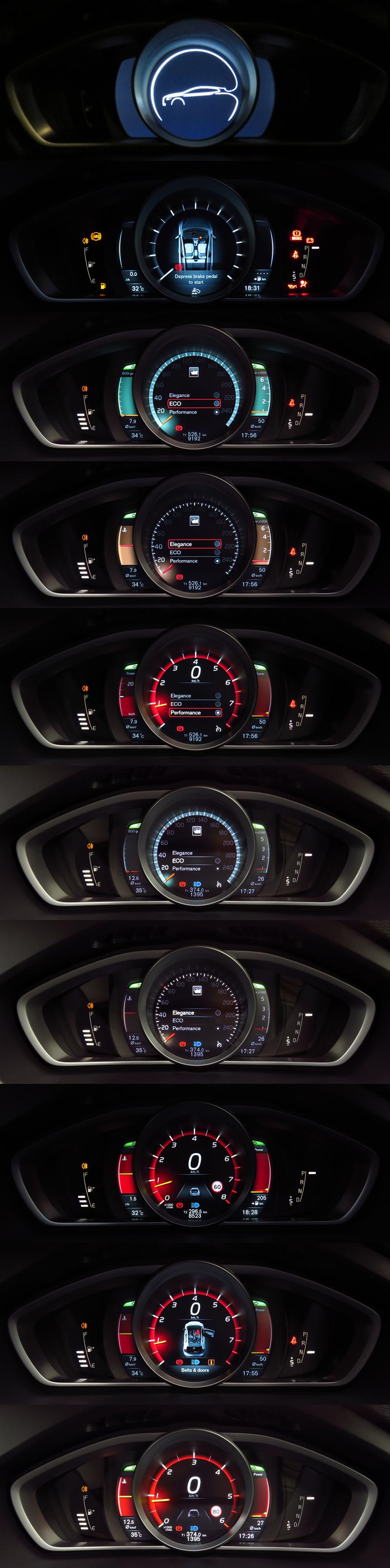 2014_Volvo_V40_Interior_12