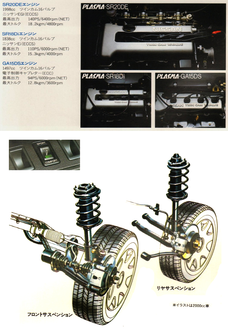 1990_Nissan_Presea_05_Engine