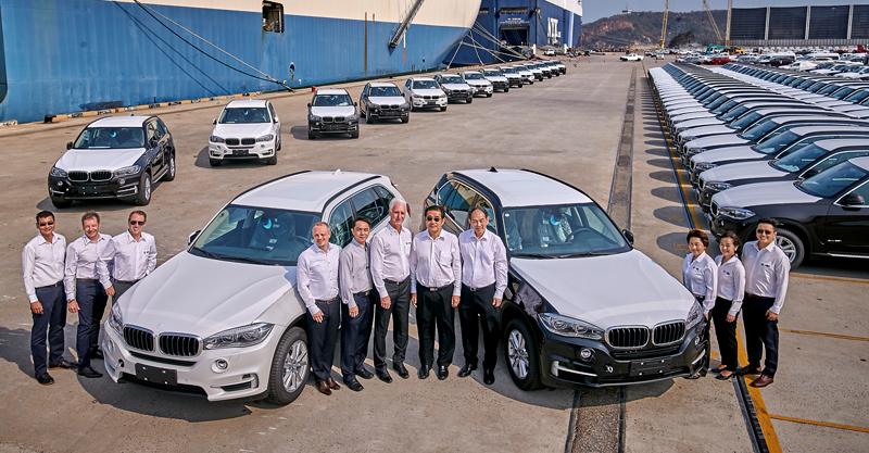 BMW shipment