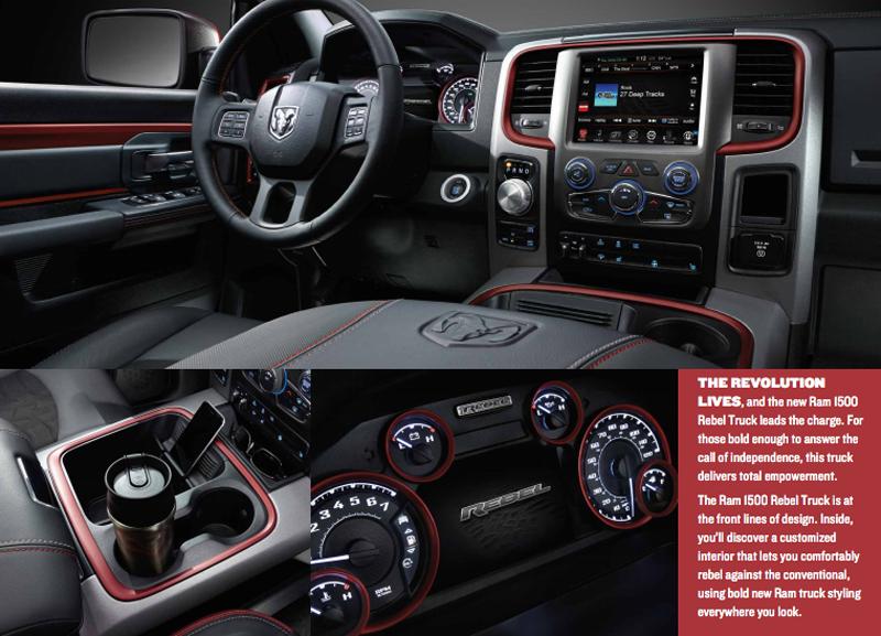 2016 Mopar Ram Rebel V8 5 7ลิตร แต่งพิเศษเสริมความดุ แบบ