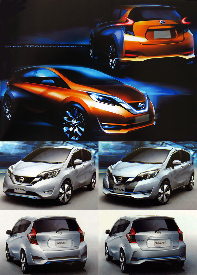 2016_Nissan_Note_Minorchange_Design_Sketch