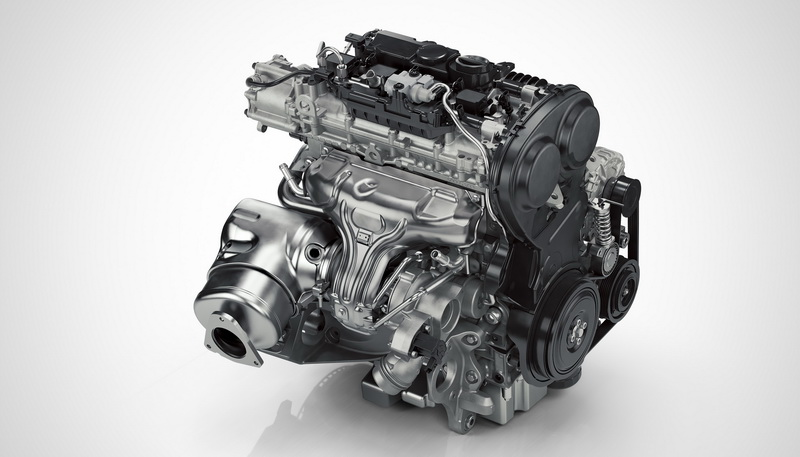 Drive-E 4 cylinder Petrol Engine - T5 Rear