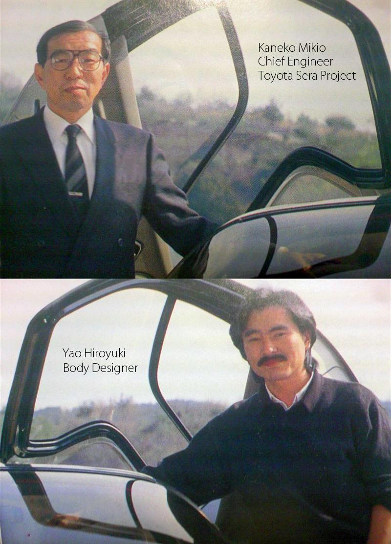 1990_Toyota_Sera_Chief_Enginner_Kaneko_Mikio