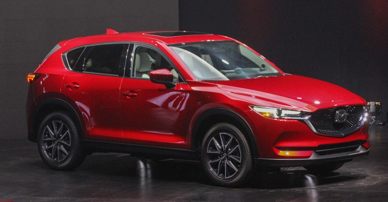 mazda cx 5 7 persoons