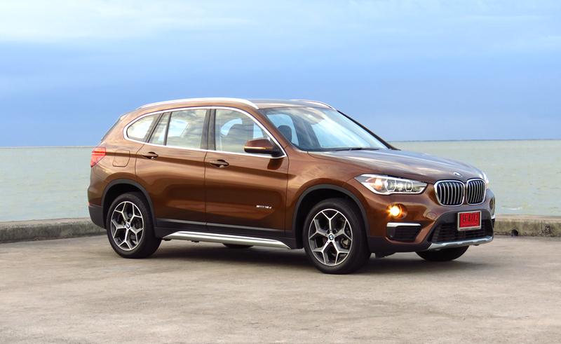 ทดลองขับ BMW X1 sDrive18d 8AT FWD (F48) : MINI ของผู้ใหญ่  และ BMW
