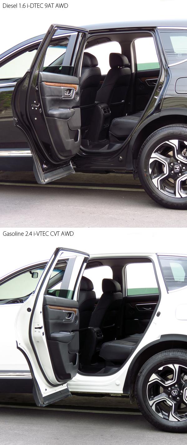 ใช่เพียงแค่ด้านหน้าจะก้าวขึ้น – ลงจากรถได้สะดวก แต่ด้านหลัง ก็สบายไม่ยิ่งหย่อนไปกว่ากันเลย บานประตูคู่หลัง เปิดกางออกได้กว้างถึง 88 องศา มากสุดในกลุ่ม C-SUV ...