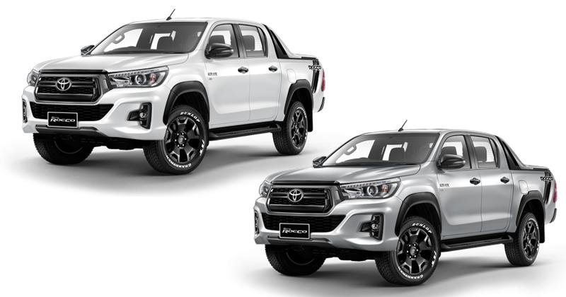 เจาะสเป็ค Option ราคา Toyota Hilux Revo Quot Rocco Quot แบบ