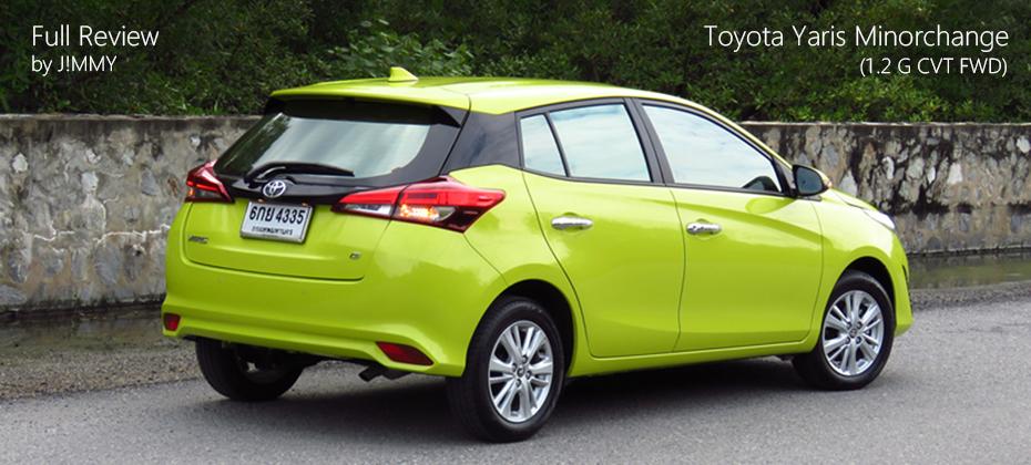 ทดลองขับ Toyota Yaris Hatchback Minorchange (1.2 L CVT) : ลดทอนความเผ็ด เติมทีเด็ด Option แท็คทีมฟันคู่กับ ATIV