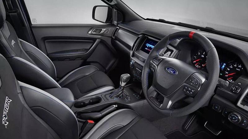 ภาพ - รายละเอียดของ Ford Ranger RAPTOR ดีเซล 2.0 Bi-Turbo ...