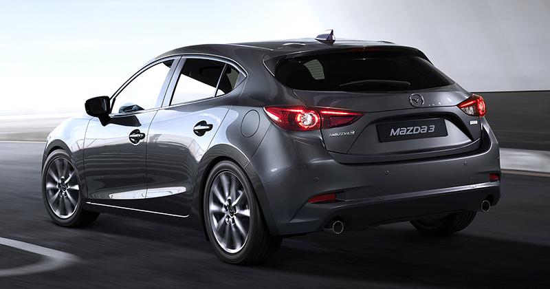 Mazda 3 2017 Blue