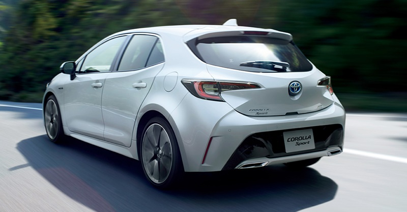 All NEW Toyota Corolla Sport (Altis Hatchback) แทนที่ Auris