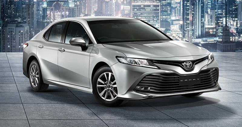ราคาอย่างเป็นทางการ Toyota Camry (TNGA) 2 0 / 2 5 / 2 5 Hybrid