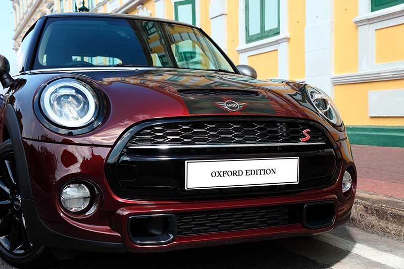 ราคาอย่างเป็นทางการ MINI Cooper S Oxford Edition : 2,819,999