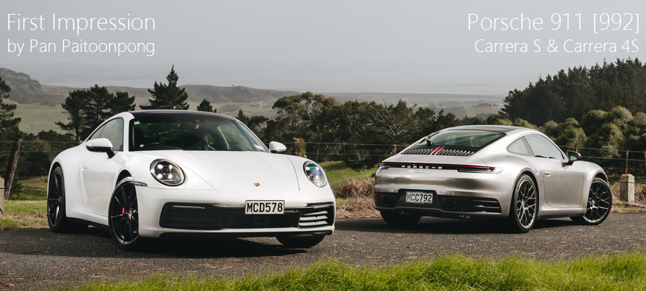 First Impression รีวิว ทดลองขับ Porsche 911 Carrera S & 4S (992) กบคันไฟหัวใจ 450 แรงม้า ที่นิวซีแลนด์