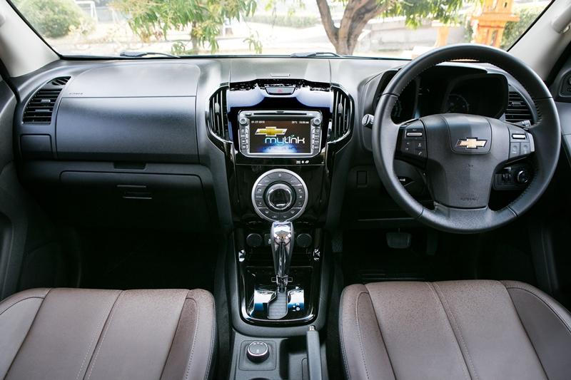 Chevrolet Trailblazer MY2015 ปรับโฉมภายในพร้อมดันแคมเปญ ...