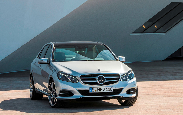 2013 mercedes benz e class minorchange for Mercedes benz thailand