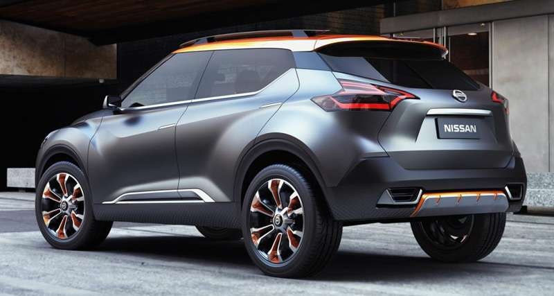 nissan kicks concept new design headlight magazine. Black Bedroom Furniture Sets. Home Design Ideas