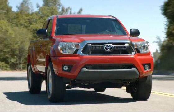 Toyota Tacoma facelift เผยร่างคร่าว ๆ