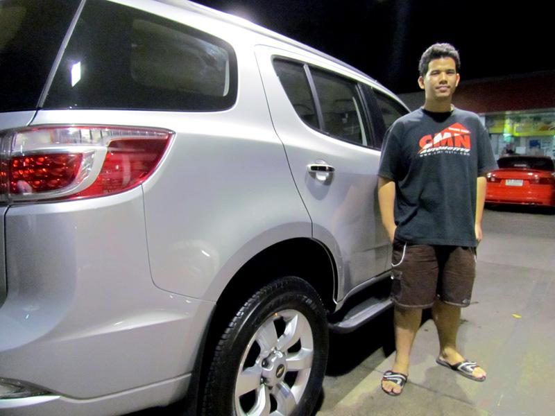 ทดลองขับ Chevrolet TRAILBLAZER (2.8 L 6AT 4x4 LTZ1 & 2.5 L 5MT 4x2 LT) : ใจหนะ...ถึง แต่ ไป ...