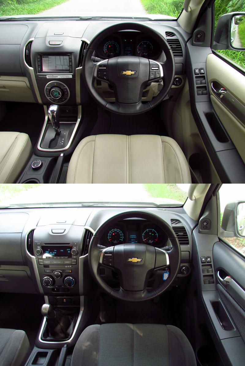 ทดลองขับ Chevrolet TRAILBLAZER (2.8 L 6AT 4x4 LTZ1 & 2.5 L ...