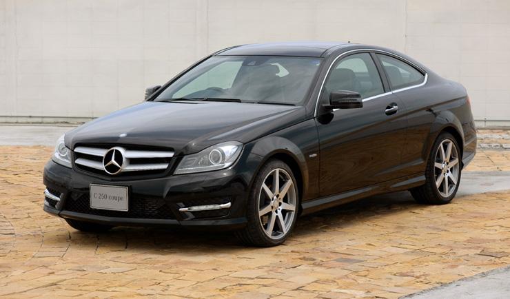 Mercedes benz c class coupe for Mercedes benz thailand