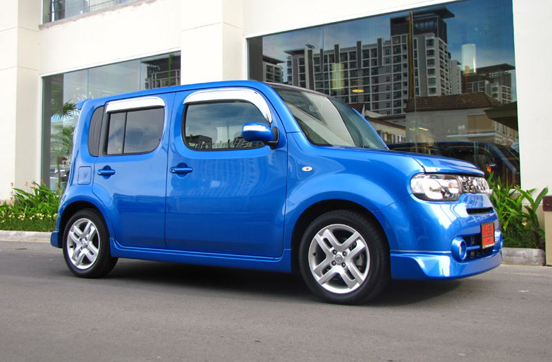 nissan cube 1 5 cvt by tsl. Black Bedroom Furniture Sets. Home Design Ideas