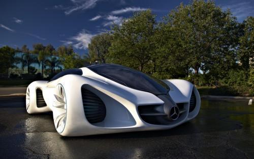mercedes benz eco supercar biome headlight magazine. Black Bedroom Furniture Sets. Home Design Ideas